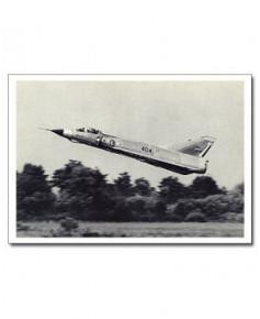 Carte postale noir et blanc - 72 - Dassault Mirage IIIE