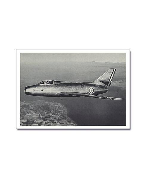 Carte postale noir et blanc - 71 - Dassault Mystère IV