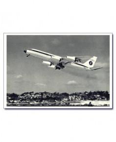 Carte postale noir et blanc - 59 - Convair 990