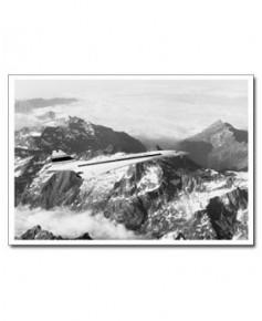 Carte postale noir et blanc - 78 - Concorde 001