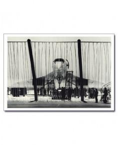 Carte postale noir et blanc - 79 - Concorde