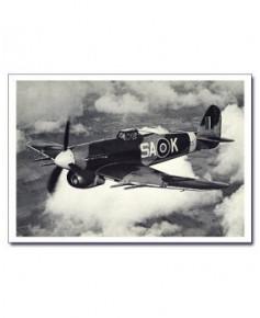 Carte postale noir et blanc - 68 - Hawker Typhoon