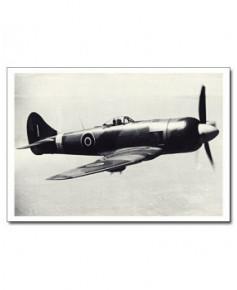 Carte postale noir et blanc - 69 - Hawker Tempest II