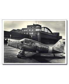 Carte postale noir et blanc - 01 - SE2310, batiment Sud Aviation, Toulouse