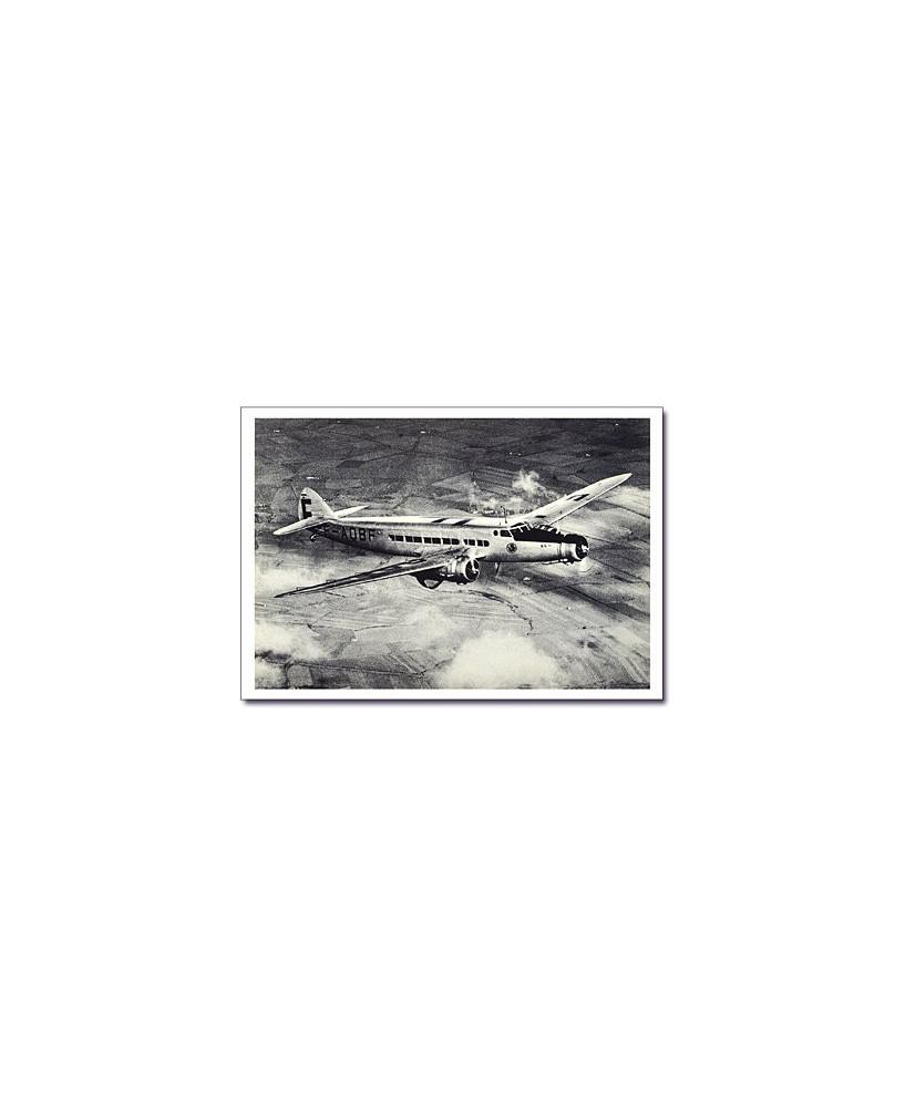 Carte postale noir et blanc - 75 - Dewoitine D338