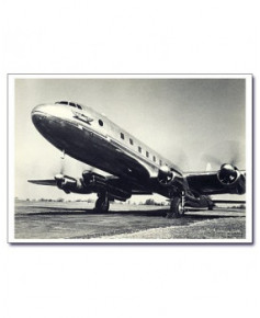 Carte postale noir et blanc - 53 - Avro Tudor II