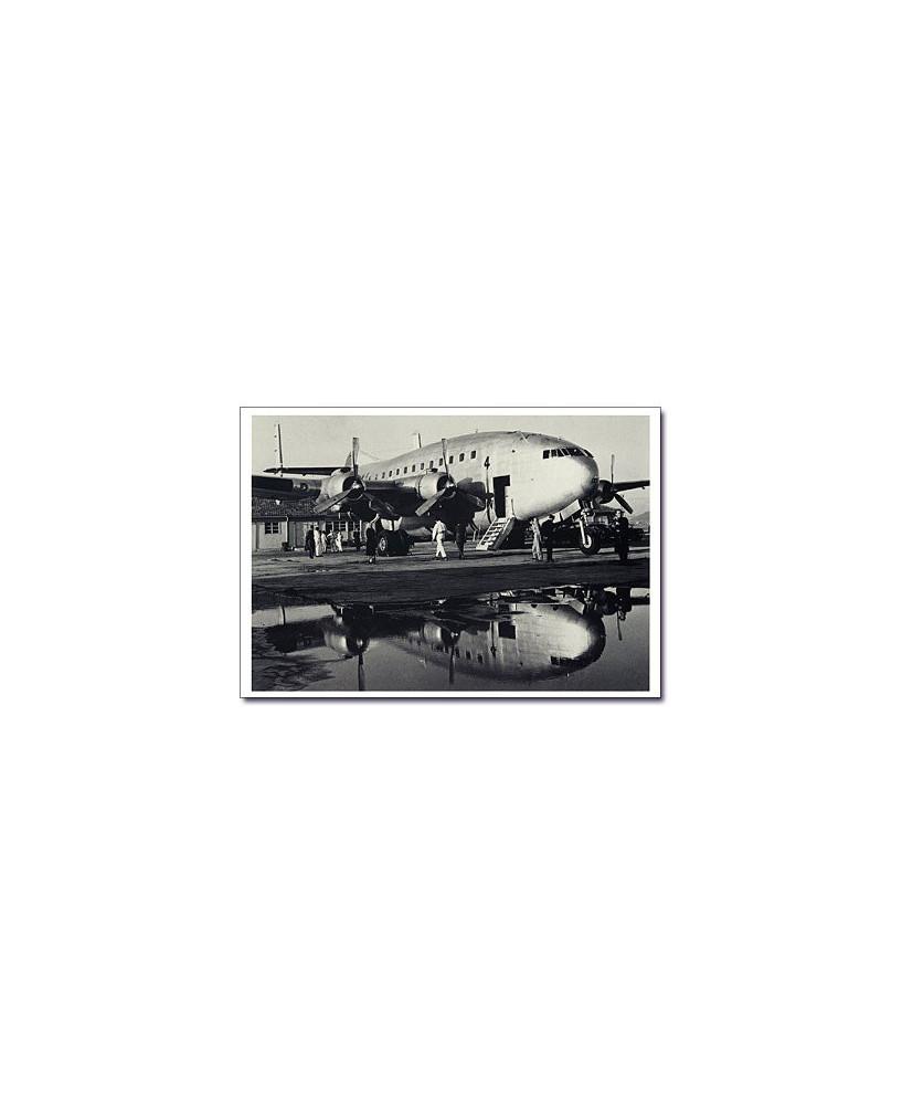 Carte postale noir et blanc - 56 - Breguet deux ponts