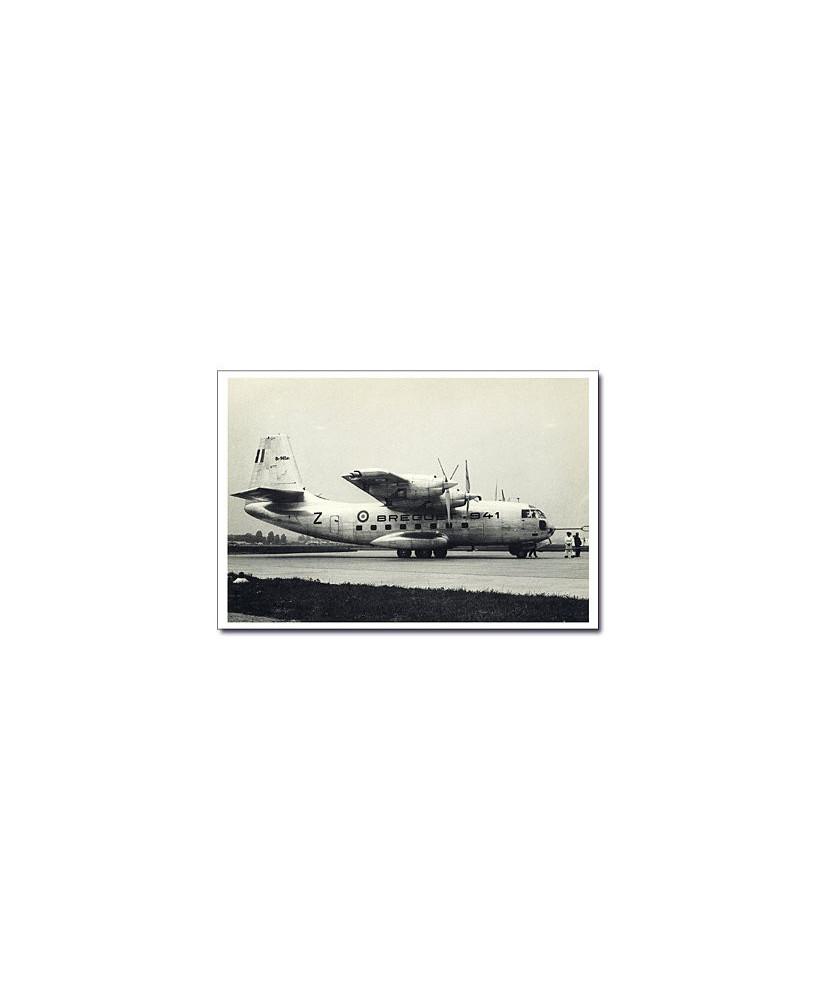 Carte postale noir et blanc - 58 - Breguet 941