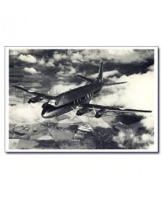 Carte postale noir et blanc - 55 - Vickers Viscount