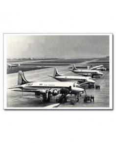 Carte postale noir et blanc - 19 - Aéroport Le Bourget
