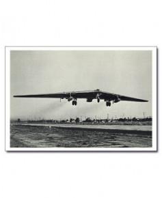 Carte postale noir et blanc - 73 - Northrop YRB-49A