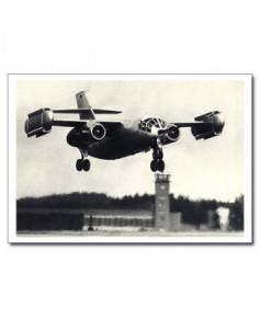 Carte postale noir et blanc - 31 - Dornier DO31