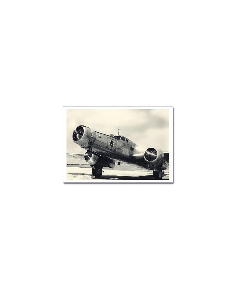 Carte postale noir et blanc - 38 - Dewoitine D338