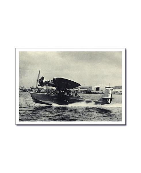 Carte postale noir et blanc - 63 - Hydravion Potez Type 45