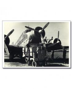 Carte postale noir et blanc - 49 - Junker JU52