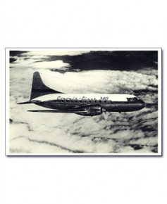Carte postale noir et blanc - 57 - Convair 340