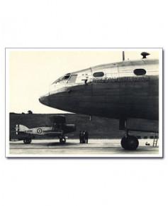 Carte postale noir et blanc - 11 - Bristol 167, Brabazon