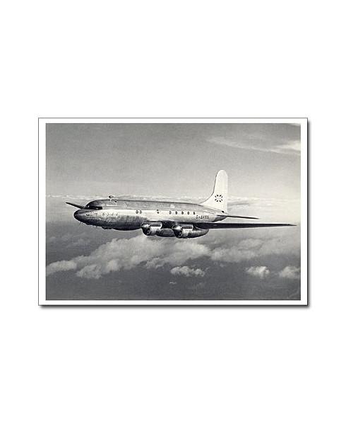 Carte postale noir et blanc - 25 - Avro Tudor 4
