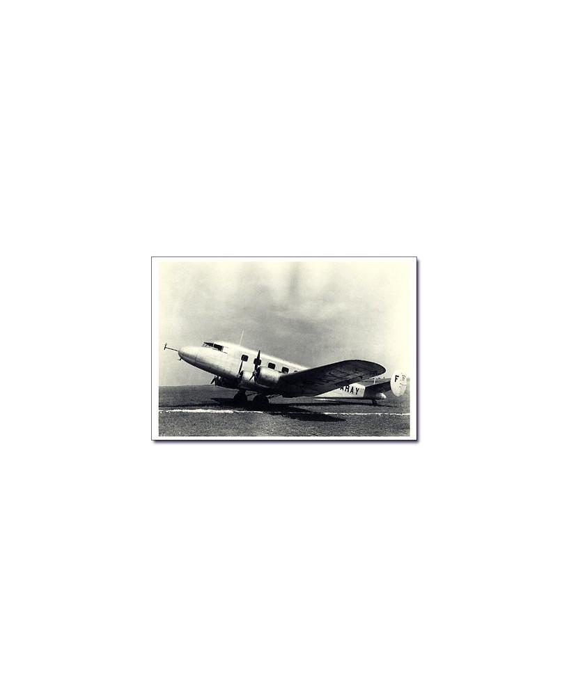 Carte postale noir et blanc - 51 - Potez 662