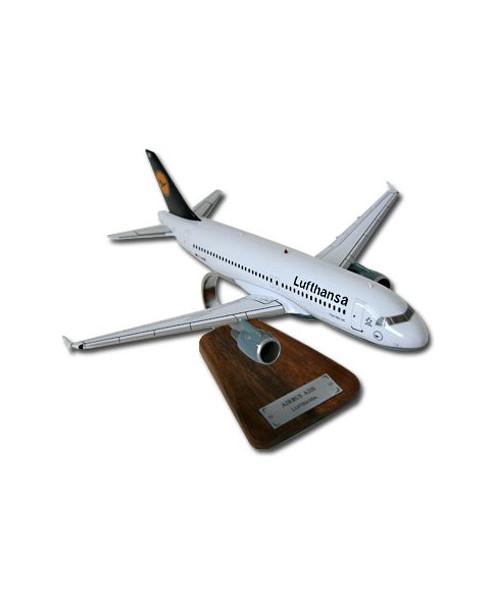 Maquette bois A320 Lufthansa