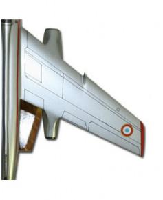 Maquette bois Vautour IIN Armée de l'Air
