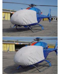 Bâche hélicoptère finition Eco-light Plus verrière pour Colibri EC120