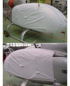 Bâche hélicoptère finition Eco-light Plus verrière pour Gazelle