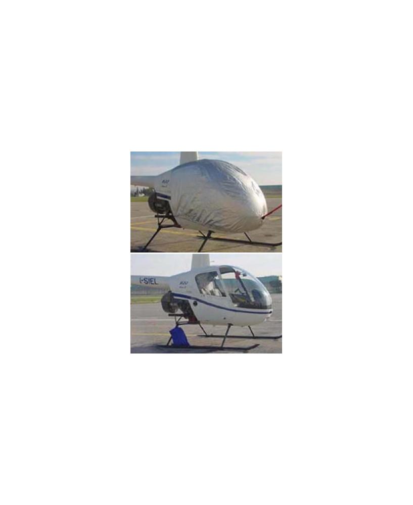 Bâche hélicoptère finition Eco-light Top verrière pour Robinson R22