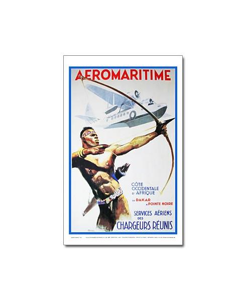 Affiche Aéromaritime