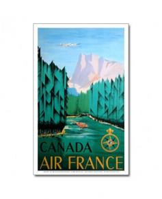 Affiche Air France, Canada