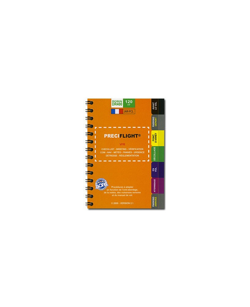 Checklist Preciflight DR400 - 120 CV