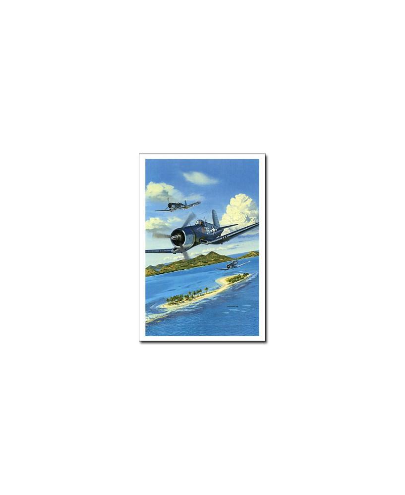 Carte postale Benjamin FREUDENTHAL - Blacksheep Squadron