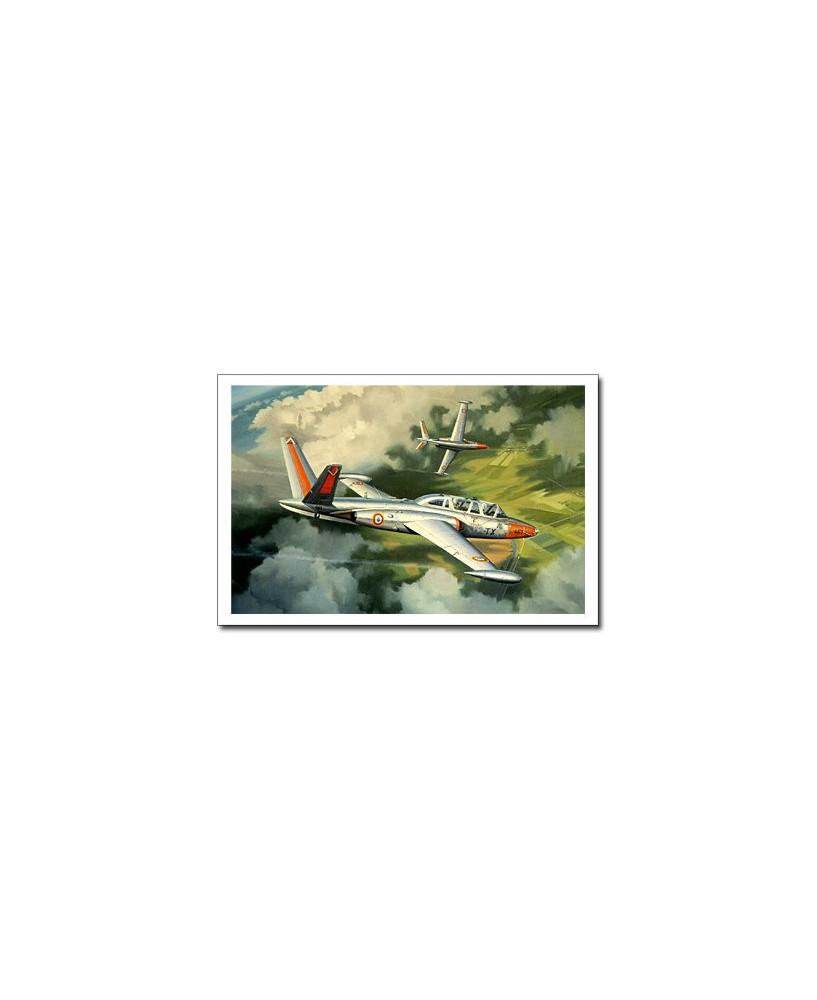 Carte postale Benjamin FREUDENTHAL - Fouga Magister