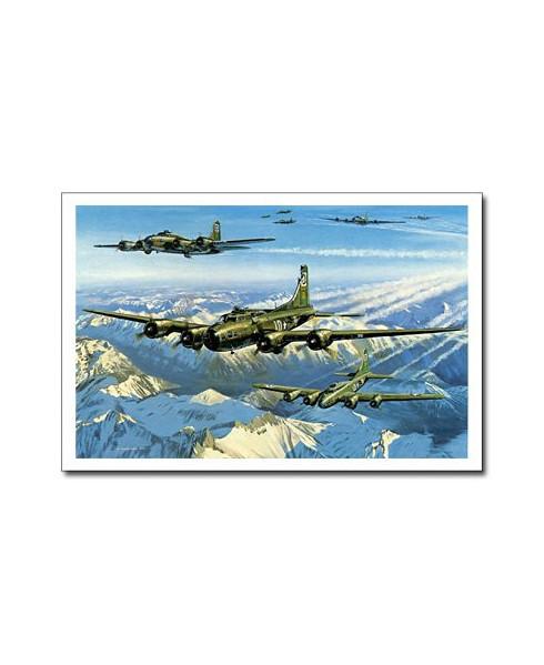 Carte postale Benjamin FREUDENTHAL - Wolf Pack