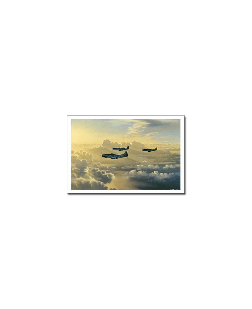 Carte postale Benjamin FREUDENTHAL - Homeward Bound (P51D Mustang)