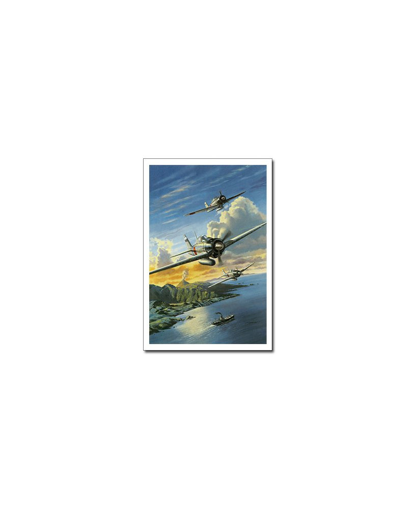 Carte postale Benjamin FREUDENTHAL - Mitsubishi Zéro