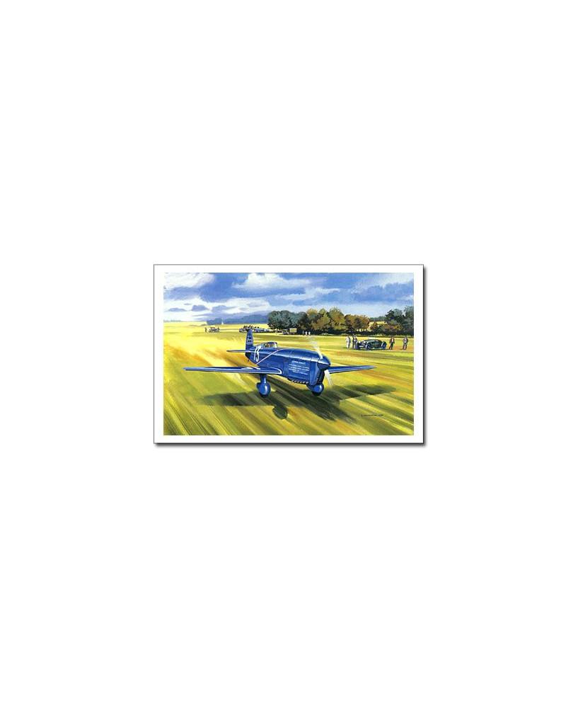 Carte postale Benjamin FREUDENTHAL - Caudron C450
