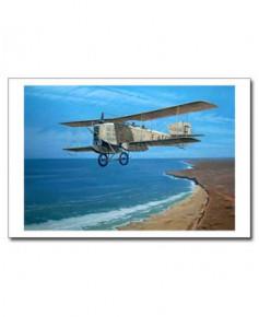 Carte postale Benjamin FREUDENTHAL - L'Aeropostale (Breguet XIV)