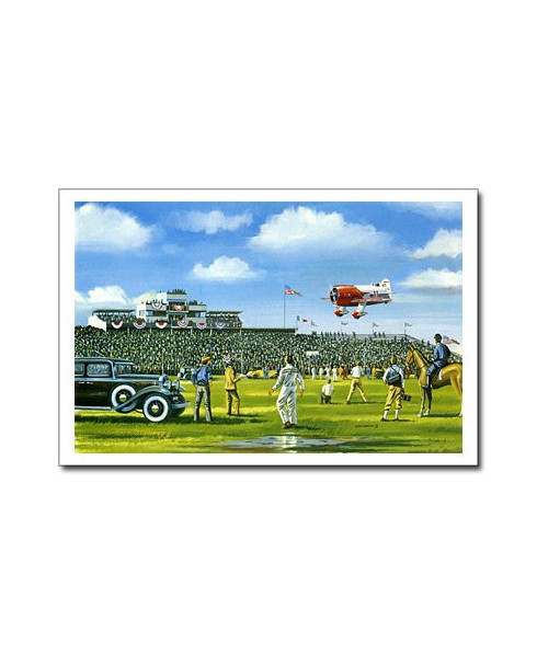 Carte postale Benjamin FREUDENTHAL - Thompson trophy 1932