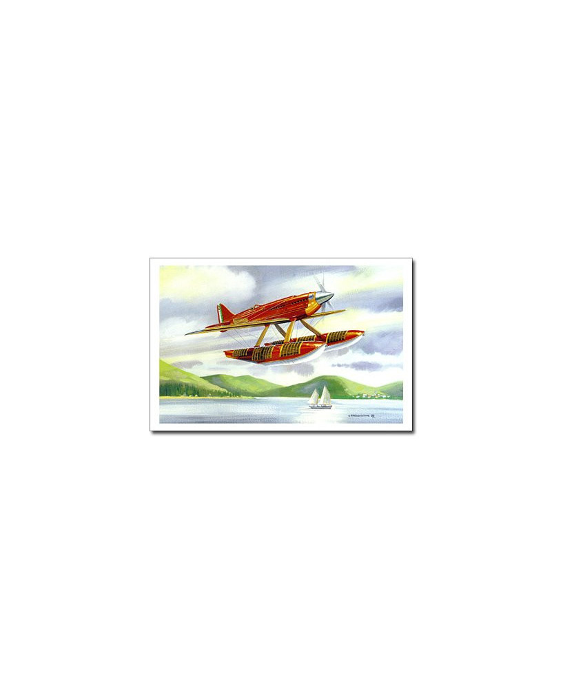 Carte postale Benjamin FREUDENTHAL - Macchi MC72