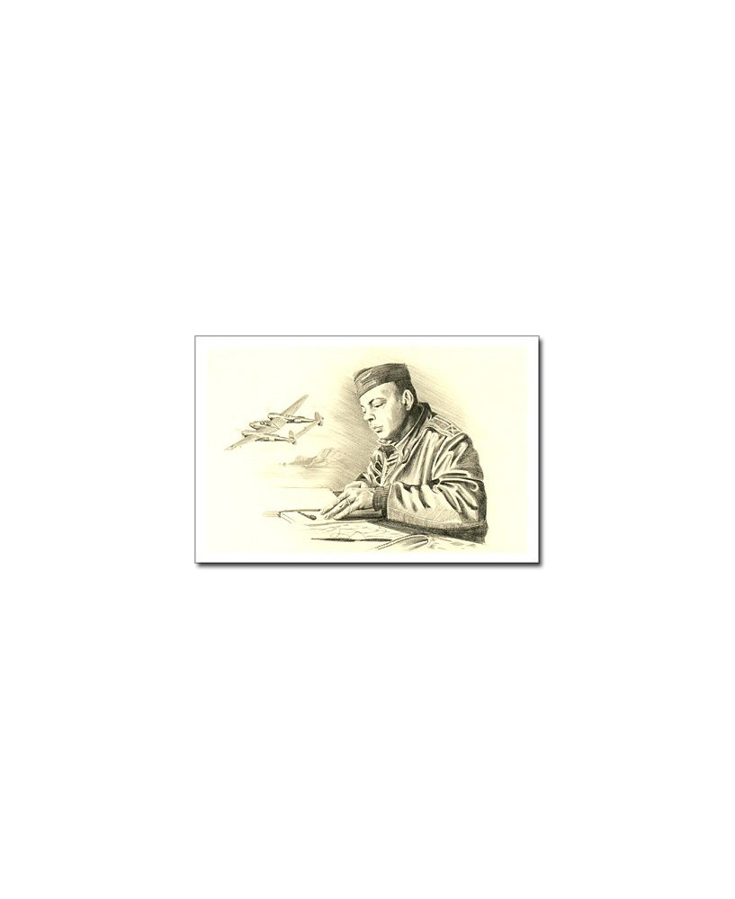 Carte postale Benjamin FREUDENTHAL - SAINT-EXUPERY