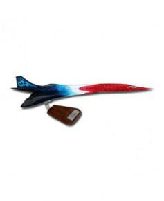 Maquette bois Concorde spécial 20e anniversaire