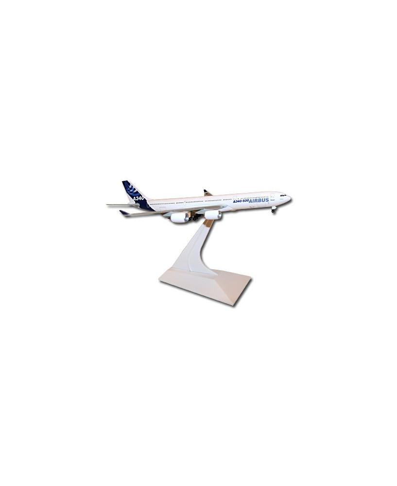 Maquette métal A340-500 anciennes couleurs Airbus 2005 - 1/400e