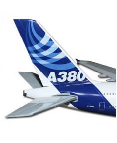 Maquette plastique A380 anciennes couleurs Airbus 2005 - 1/200e
