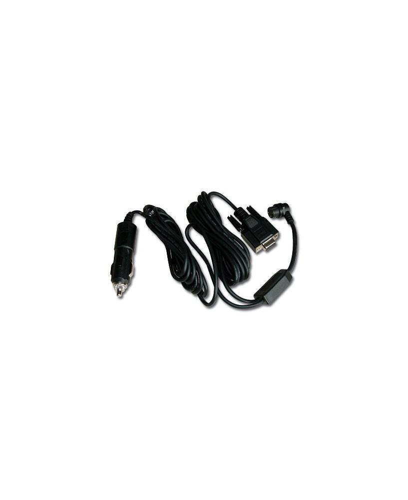 Câble P.C. pour G.P.S. Garmin avec adaptateur allume-cigare (sauf Garmin 296, 495 et 496)