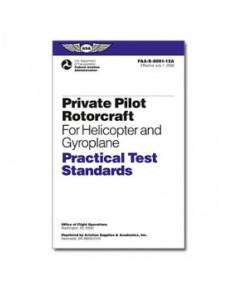 Practical Test Standards - Private Pilot rotorcraft