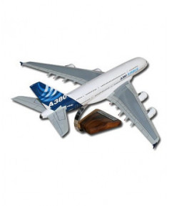 Maquette bois A380-800 couleurs Airbus - 1/140e