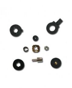 Ecrou nylon ajustable à la main pour micro casque PA11-20