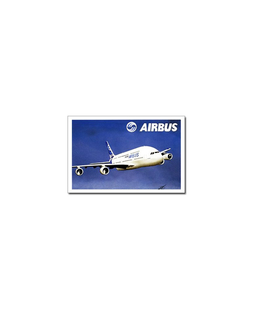 Carte postale Jean-Pierre CONDAT - L'A380 d'Airbus