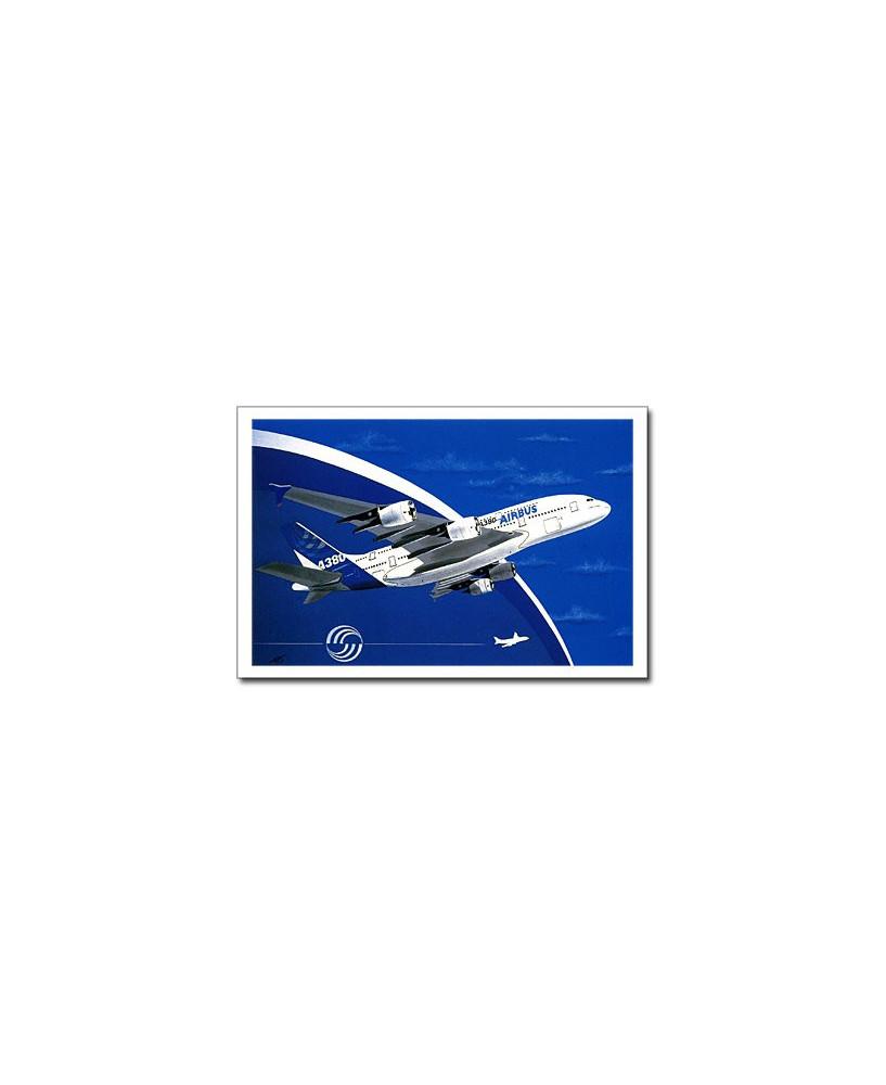Carte postale Jean-Pierre CONDAT - A380, 27 avril 2005
